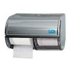 Диспенсер для туалетной бумаги в стандартных рулончиках на 2 шт.
