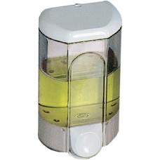 Диспенсеры для жидкого мыла 1.1 л. заливные прозрачные