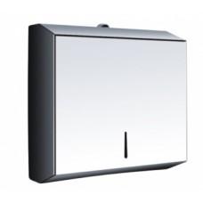 Диспенсер для листовых бумажных полотенец (нерж) BXG-5003A