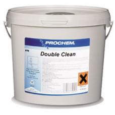 Высококонцентрированное быстрорастворимое порошкообразное средство Double Clean