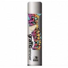 Graffiti Remover удаляет различные красители, чернила шариковых ручек и фломастера, масло, жир, смолу, отметки резины и другие проблемные пятна