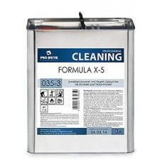Универсальное чистящее средство на основе растворителей Formula X-5 3л