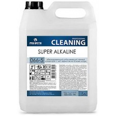 Обезжиривающий отбеливающий пенный концентрат с дезинфицирующим эффектом Super Alkaline 5л.