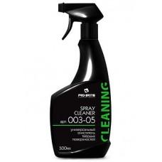 Универсальный очиститель твёрдых поверхностей Spray Cleaner 500мл.