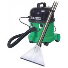 Моющий пылесос для мытья ковровых покрытий, мягкой мебели, твердых поверхностей, сбора воды и сухой уборки различных поверхностей GEORGE GVE 370-2