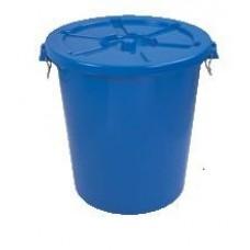 Бак пластиковый с крышкой 65 литров