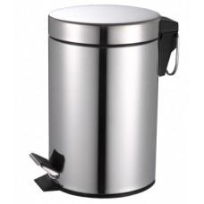 Контейнер для мусора 20л. хром
