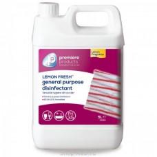 Бактерицидный очиститель с запахом лимона Lemon Fresh 5л