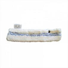 Шубка для мытья окон, полиэстер с мягким абразивом 35 см