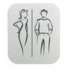 Табличка для туалетной комнаты