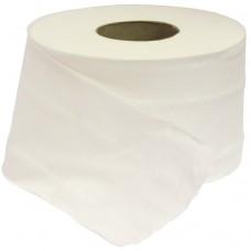 Туалетная бумага двуслойная 160 м (белая)