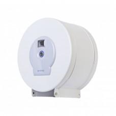 Диспенсер ROSSIGNOL для туалетной бумаги, метал., белый, 200м 58570