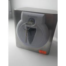 Диспенсер ROSSIGNOL для туалетной бумаги, метал., серебристый 58109