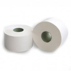 Туалетная бумага однослойная 200 м (белая)