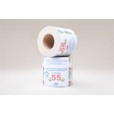 Туалетная бумага на втулке (серая)