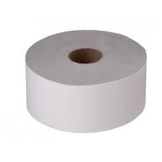 Туалетная бумага однослойная 350 м (серая)