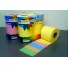 Туалетная бумага цветная на втулке двуслойная в упаковке (4 рулона)