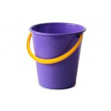 Ведро пластиковое бытовое 5 литров