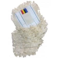 Насадка для швабры моп 40 см хлопок, крепление карманы (сухая уборка)