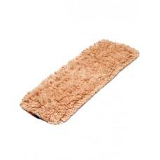 Насадка для швабры моп 40 см хлопок универсальный крепление карман/уши