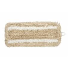 Насадка для швабры моп 40 см хлопок/микрофибра, крепление карман/уши